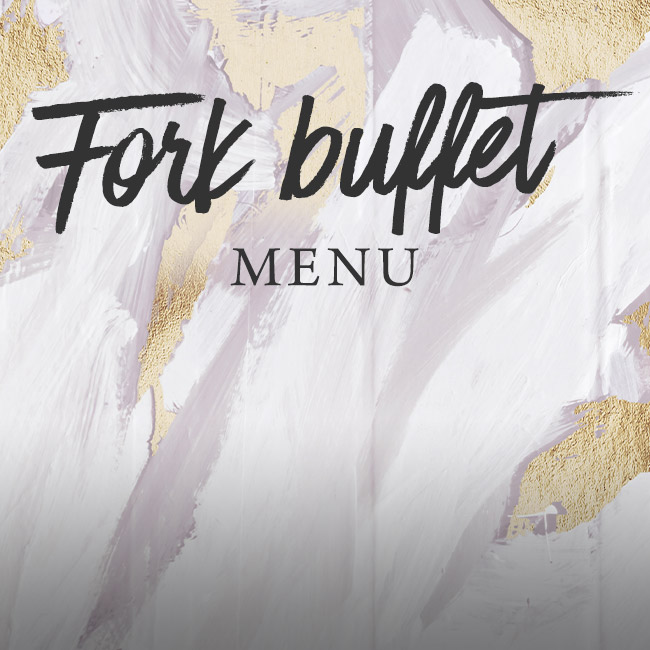 Fork buffet menu at The Nag's Head