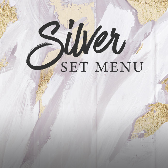 Silver set menu at The Nag's Head