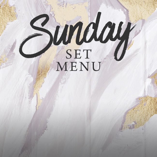 Sunday set menu at The Nag's Head